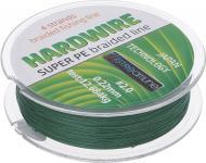 Шнур G.Stream Hardwire X4 green SL 100м 0.22мм 12.684кг НС0004402