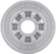 Диск Torneo для грифа 0.5 кг 1008-5