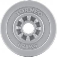 Диск Torneo для грифа 1,25 кг 1008-12