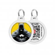 Адресниця WAUDOG Smart ID Бетмен жовтий преміум