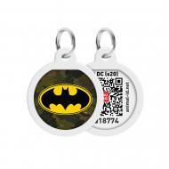 Адресниця WAUDOG Smart ID Бетмен зелений преміум