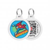 Адресниця WAUDOG Smart ID Політ Супермена преміум