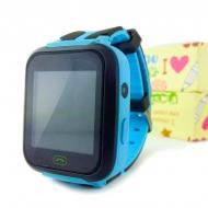 Детские смарт часы Smart Z-3/A-25S c GPS-трекером голубые TOP