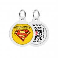 Адресниця WAUDOG Smart ID Супермен вінтаж преміум