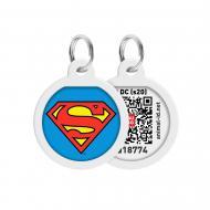 Адресниця WAUDOG Smart ID Супермен-герой преміум