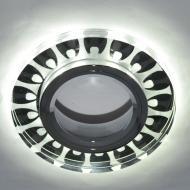 Світильник точковий Blitz з LED-підсвіткою MR16 35 Вт GU5.3 6000 К хром BL 221S3 CH+WH