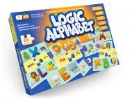 Игра настольная Danko Toys Logic Alphabet (англ/укр) G-LoA-01-04U