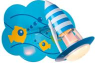 Спот Brilliant Aqua 1x40 Вт E14 блакитний HK14385S72