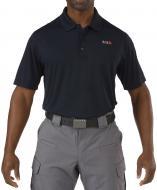 Футболка поло 5.11 Tactical Pinnacle Short Sleeve Polo р. XL dark navy 71036