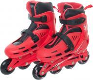 Роликовые коньки GL15BR р. 35-38 красный