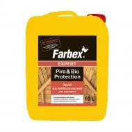 Огнебиозащита Farbex для древесины мат 10 л