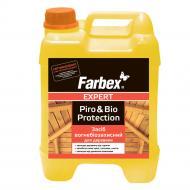 Огнебиозащита Farbex для древесины мат 5 л