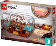 Конструктор LEGO Ideas Корабель у пляшці 92177