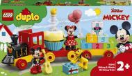 Конструктор LEGO DUPLO Святковий потяг Міккі та Мінні 10941