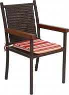 Крісло ротангове Rattwood 6850 95x45x52 см коричневий