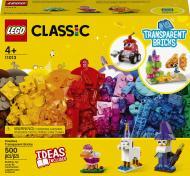 Конструктор LEGO Classic Прозорі кубики для творчості 11013