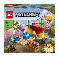 Конструктор LEGO Minecraft Кораловий риф 21164