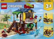 Конструктор LEGO Creator Пляжний будиночок серферів 31118