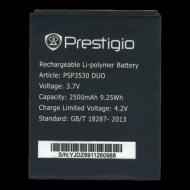 Батарея Prestigio PSP3530, PSP3531, PSP3532, PSP7530 (2500mAh) AAA