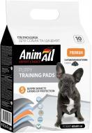 Пелюшки AnimAll 60х60 см з активованим вугіллям для собак