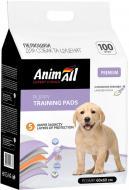 Пелюшки AnimAll 60х60 см з ароматом лаванди для собак