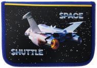 Пенал Space Shuttle 210/70D PL 20207 CLASS синій