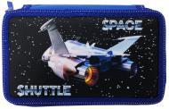 Пенал Space Shuttle 210/70D PL 20407 CLASS синій