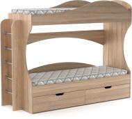 Ліжко Компаніт Бріз 70х190 см дуб сонома