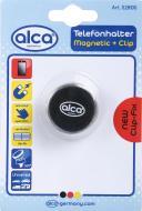 Тримач для телефона магнітний на дефлектор Alca 528100 чорний