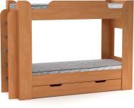 Ліжко Компаніт Твікс 70х190 см вільха