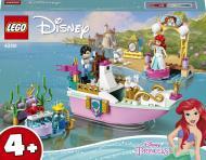 Конструктор LEGO Disney Святковий човен Аріель 43191
