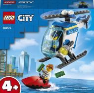 Конструктор LEGO City Поліцейський гелікоптер 60275