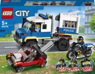 Конструктор LEGO City Поліцейська машина для перевезення в'язнів 60276