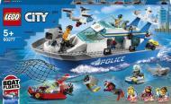 Конструктор LEGO City Поліцейський патрульний човен 60277