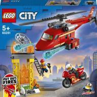Конструктор LEGO City Пожежний рятувальний гелікоптер 60281