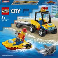 Конструктор LEGO City Пляжний рятувальний всюдихід 60286