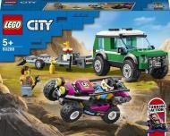 Конструктор LEGO City Транспортер гоночного багі 60288