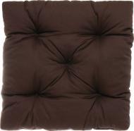 Подушка INDIGO стьогана коричнева 45х45х8см