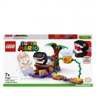 Конструктор LEGO Super Mario Зустріч у джунглях із кусакою на ланцюгу. Додатковий рівень. 71381