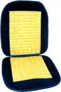 Накидка на сидіння CarCommerce велюрова з бамбуковими вставками 61210 синій