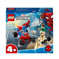 Конструктор LEGO Super Heroes Marvel Сутичка Людини-Павука і Піщаної Людини 76172
