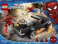 Конструктор LEGO Super Heroes Marvel Людина-Павук і Примарний Вершник проти Карнажа 76173