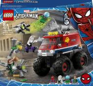 Конструктор LEGO Super Heroes Marvel Вантажівка-монстр Людини-Павука проти Містеріо 76174