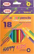 Олівці кольорові Happy kids VGR