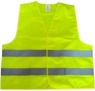 Жилет сигнальний CarLife XL, зелений