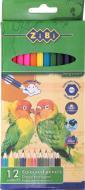 Набір олівців 12 шт. ZB.2410 ZiBi