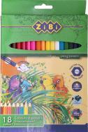 Набір олівців 18 шт. ZB.2411 ZiBi