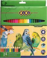 Набір олівців 24 шт. Soft ZB.2412 ZiBi