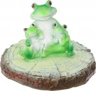 Фігурка декоративна для водойми Три жабки