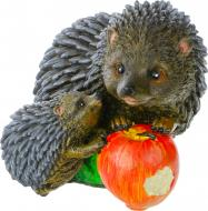Фігурка садова Їжачки та яблуко